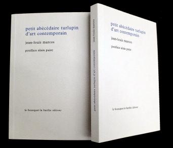 LE SHOP du lieu multiple montpellier - Jean-Louis Marcos - Le petit abecedaire turlupin de l'art contemporain